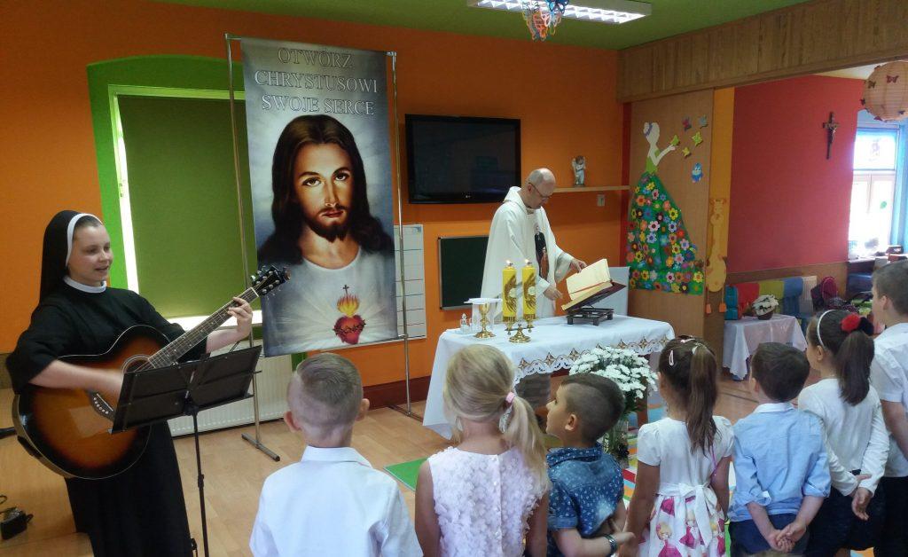 Msza święta z dziećmi